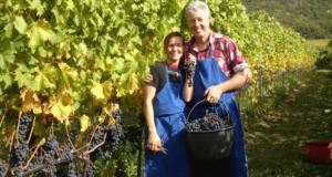 Tenuta Lieselehof Werner Morandell con la figlia