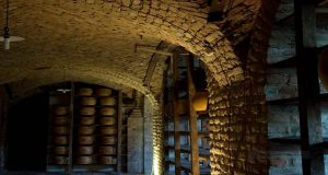 cella stagionatura parmigiano