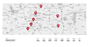 Mappa Milano Food Week