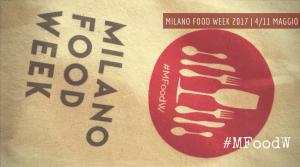 Milano Food Week 2017